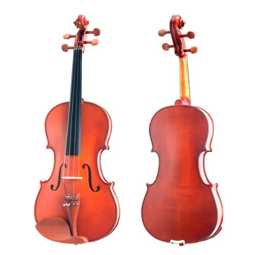 Cecilio CVA-400 14-Inch Solid Wood Flamed Viola