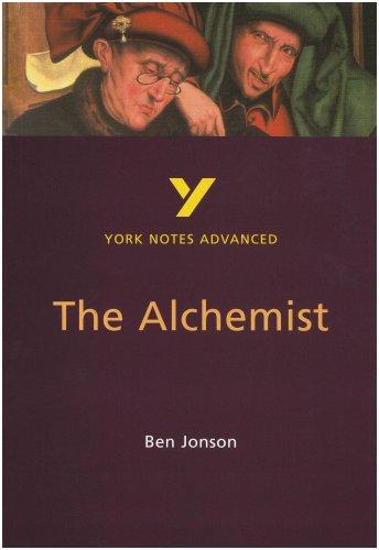 The Alchemist (York Notes Advanced)