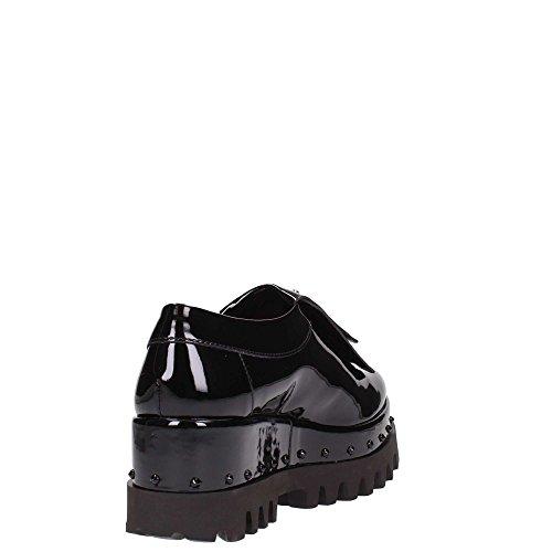Cult - Zapatos de cordones para mujer Negro negro wV2hx6AU5
