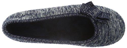 Gabor Home 38001039 - Pantuflas cálidas con forro Mujer Azul - Blau (Marino)