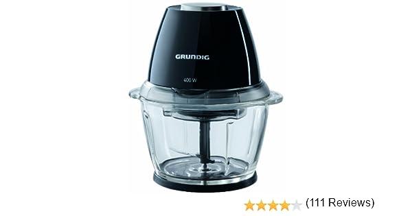 Grundig CH 7280 - Picadora eléctrica, color negro: Amazon.es: Hogar