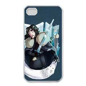 iPhone 4 4s Cell Phone Case White Of Thrones Custom DSANJIKBH7397