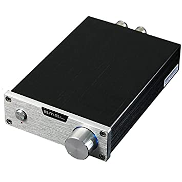 SMSL SMSL SA-98E silver 160W Stereo Digital Amplifier with Power Adapter Silver
