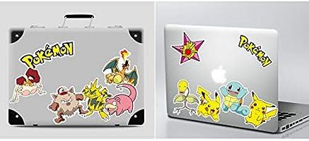 Wasserdicht Aufkleber Kind Teenager Pok/émon Stickers f/ür Auto Motorr/äder Fahrrad Skateboard Gitarre Snowboard Gep/äck Notebook Laptop Hyde Pokemon Sticker Pack 80 St/ück Anime Stickers