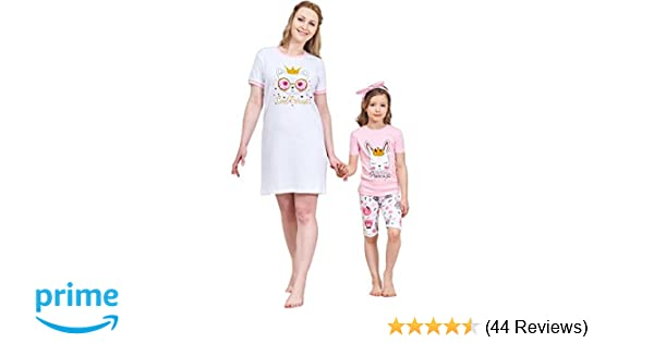 c6aca31f4a Amazon.com  Christmas Family Matching Pajamas Set Santa s Deer Sleepwear  The Family Boys Girls Red  Clothing
