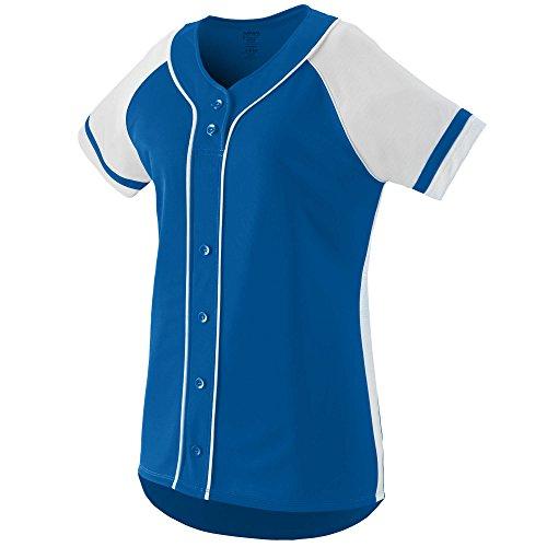 Augusta Sportswear Girls' Winner Softball Jersey M Royal/White