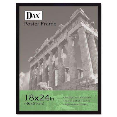 Burnes of Boston DAX2860W2X DAX 18 by 24 Inch Black Wood Wall Frame #2860W2X,
