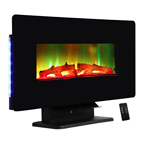 """ROVSUN 36"""" Wall Mounted Electric Fireplace W/Remote Control"""