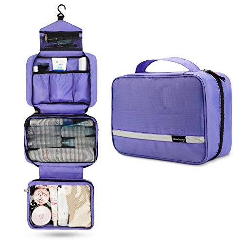 Travel Toiletry Bag for Women, Maxchange Hanging Toiletry Bag with 4...