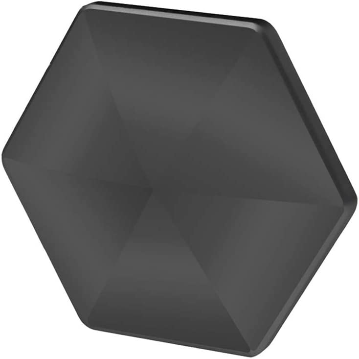 Miss House 2020 Flipo Flip Fingertip Gyro Desktop Flip Metal Decompressor Pocket Kinetic Energy Toys Relieves Fatigue Stress(Medium Black)
