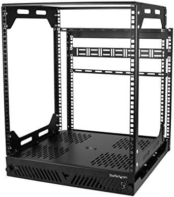 StarTech com Adjustable Equipment Cabinet PORACK12U