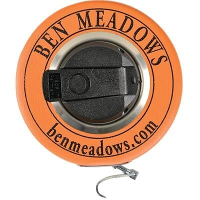 BEN MEADOWS Carbon Steel Diameter Tape, 20'L, 3/8''W Claw Hook By Tabletop King by TableTop King
