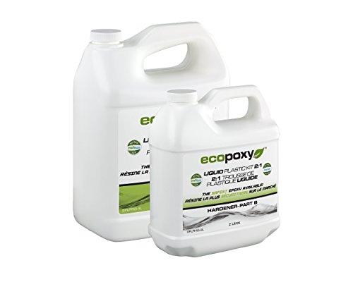 EcoPoxy - Liquid Plastic (1, 6 Liter - 2:1 ()
