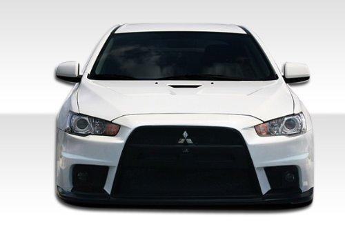 2008-2013 Mitsubishi Lancer Duraflex Evo X Look Hood - 1 Piece