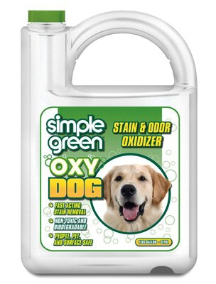 Sunshine Makers 2010000415306 Oxy Dog Pet Stain & Odor Remover, 1-Gal. - Quantity 4