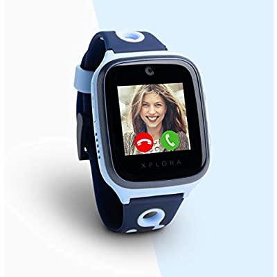 Xplora Kids Smartwatch Ocean Blue with SIM Card and Usage Service