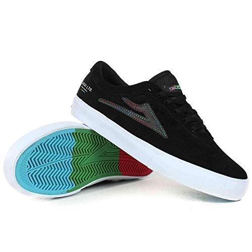 Lakai Skateboard Shoes The Flare Sheffield Black Suede Size 11