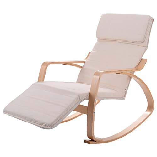 Giantex Recliner Adjustable Footrest Headrest