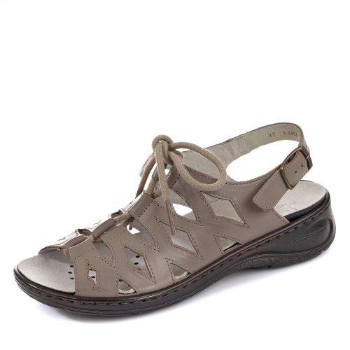 Ara Jenny Korfu-Ang, Women Sandals, Beige taupe