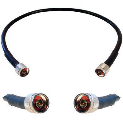 Wilson Electronics 2 ft. Black Wilson400 Ultra Low Loss Coax Cable (N-Male to N-Male) by weBoost