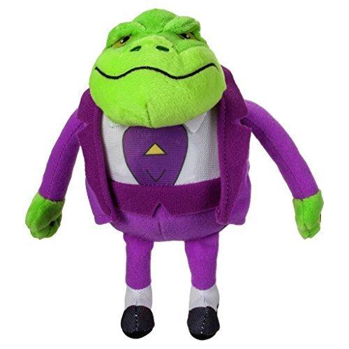Official Danger Mouse Talking Plush Toys - Baron Greenback