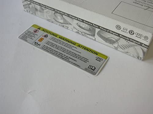 Volkswagen Original Pl.Ident 8K0010520A Attention *Tension Elevee