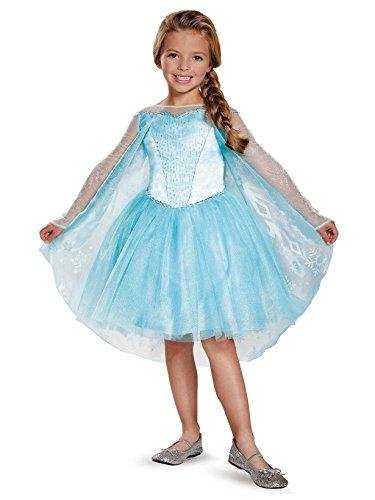 Elsa Tutu Prestige Costume, X-Small (3T-4T)