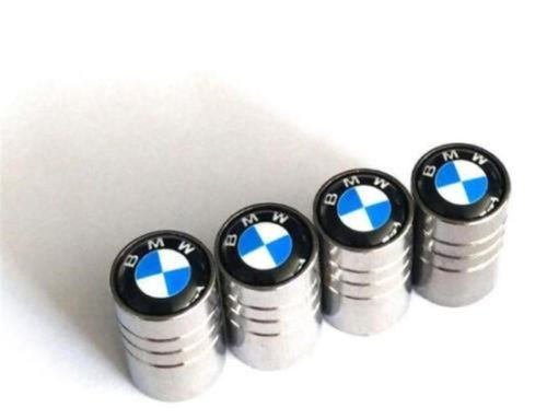 chuchu88 Universal Car Wheel Tire Air Valve Stems Caps Dust Cover Logo Emblem For BMW ()