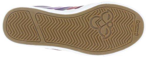 hummel HUMMEL STADIL LOW JR 63-401-0549 - Zapatillas de cuero para niños Rojo