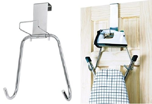 Sif The Door Ironing Board Chrome Over Hanger Holder T-Leg Ironing Board Metal New