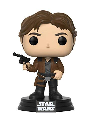 Funko Pop!-Han Solo Star Wars Red Cup Figura de Vinilo, Multicolor (26974)
