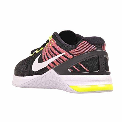 Nike Vrouwen Metcon 3 Training Schoenen Zwart / Wit-volt-chloor Blue