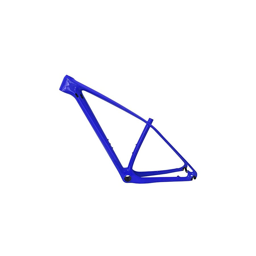 SmileTeam T1000 Carbon Blue Glossy Mtb Frame 29er Mtb Carbon Frame 29 Carbon Mountain Bike Frame 142x12 or 135x9mm Bicycle Frame