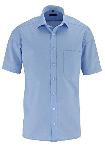 Camicia da uomo modern fit manica corta nero 45