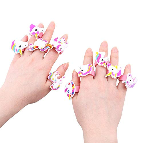 HOCHE Toy-Unicorn Ring (12 PCS) -