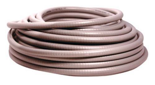 Southwire 58046301 Ultratite Liquidtight Non-Metallic Flexible Conduit, Gray, 3/4 in, 100 Ft. Coil
