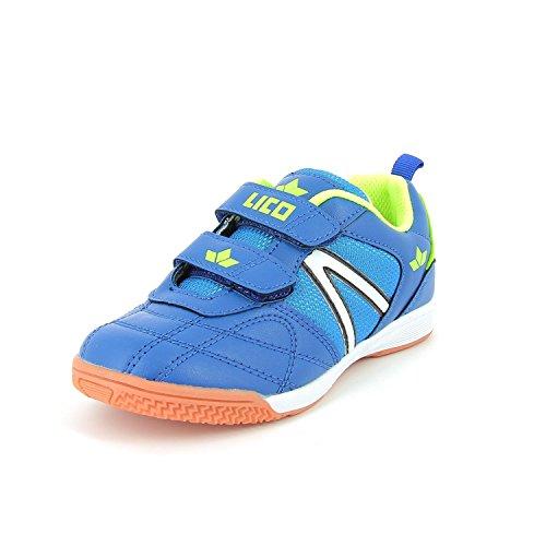 lico Joven Zapatillas First Indoor V sintéticos Azul