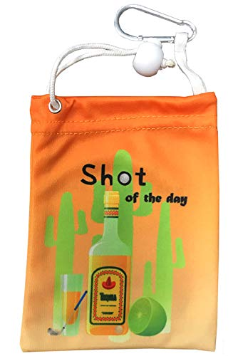 (Giggle Golf Microfiber Shot of The Day Tee Bag with Four Wood)
