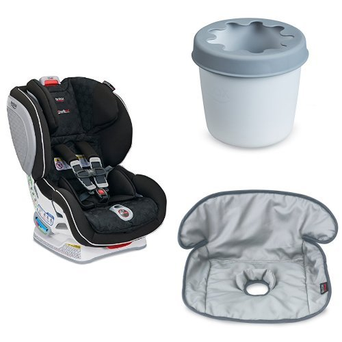 Britax ClickTight Advocate Convertible Car Seat with Cup Holder and Waterproof Seat Liner