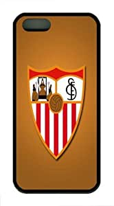 FC Sevilla Custom iPhone 5S/5 Case Cover TPU Black