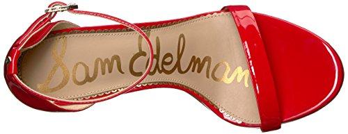 Caramelle Donne Sandalo Edelman Sam Delle Rossa Tacco Ariella Vernice U5SRH5q