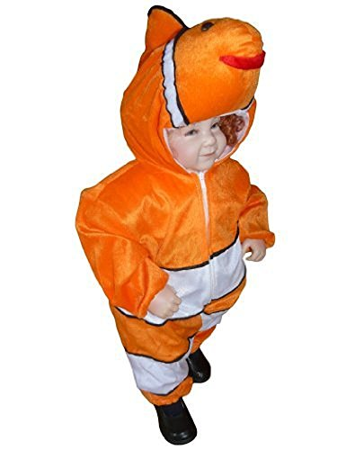 Fantasy World Fish Halloween Costume f. Toddlers, Size: 12-18mths, (Dressing Up As A Baby For Halloween)