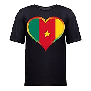 Brasil 2014 FIFA World Cup Theme Short Sleeve T-shirt,Football Background Mens Cotton shirts for Fans black