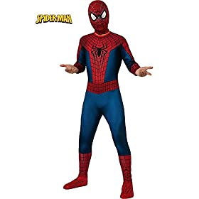 - 41fWLkL2ipL - Disguise Marvel The Amazing Spider-Man 2 Movie Spider-Man Classic Boys Costume
