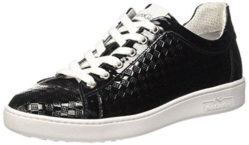 Donna 100 Collo P717253d Nero Sneaker Basso a 100 Nero Giardini vqSx0EwO