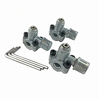 Ximoon (3 PACK) BPV-31 Bullet Piercing Valve 3 in 1 Access Replacements for Air Conditioners HVAC 1/4