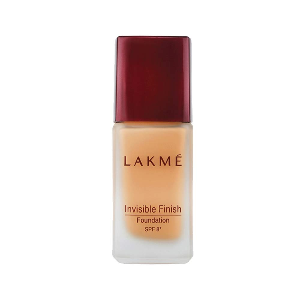 Lakme Invisible Finish SPF 8 Foundation, Shade, 25ml