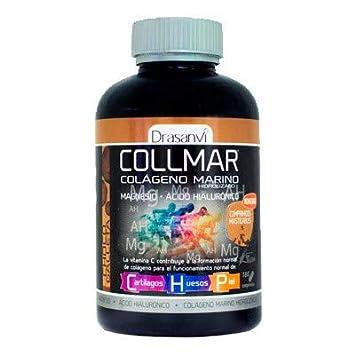 Collmar, colágeno marino hidrolizado con magnesio y ácido hialurónico para cartilagos, huesos y piel 180comp sabor galleta: Amazon.es: Salud y cuidado ...