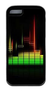 Equalizer Custom iPhone 5C Case Cover TPU Black