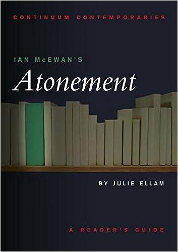 Book Ian McEwan's Atonement (Continuum Contemporaries)